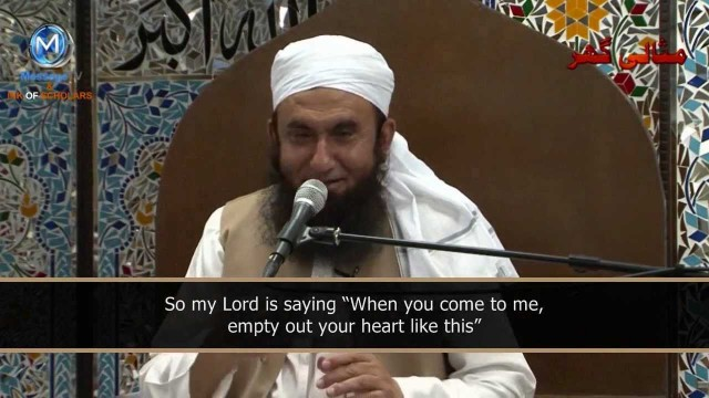 Just you and me- Maulana Tariq Jameel