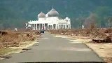 Tsunami mosques Miracle of Allah