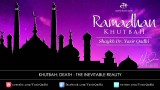 Ramadan Khutbah: Death – The Inevitable Reality – Dr. Yasir Qadhi | 12th August 2011