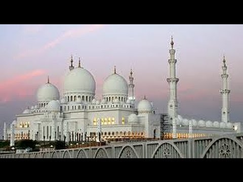 Sheikh Zayed Grand Mosque, Abu Dhabi, United Arab Emirates (video)