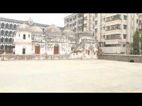 Historical Sites of Bangladesh, Shatgumbad Mosque (7 domed Mosque), Dhaka