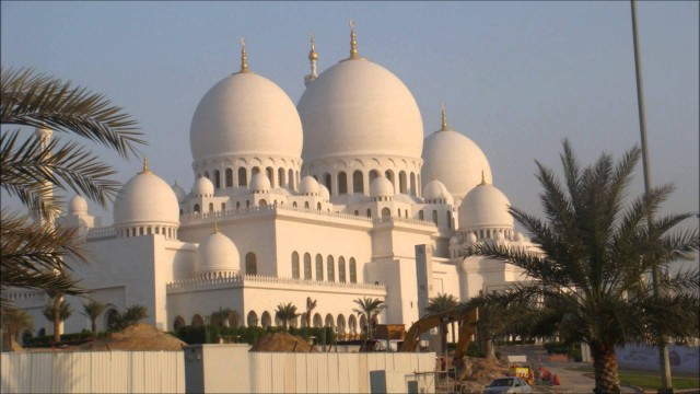 Mosques around the world – Mosquées autour du monde N°12 Abu Dhabi UAE