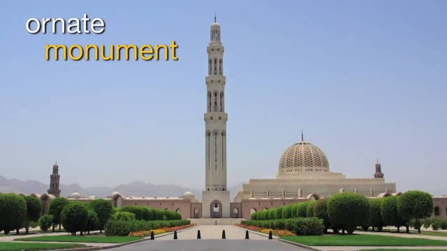 Travel Oman – Tour of Sultan Qaboos Grand Mosque