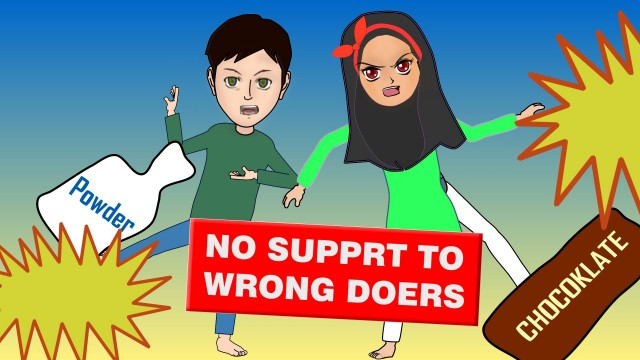 Aisha & Ismail – No Support to wrong doers